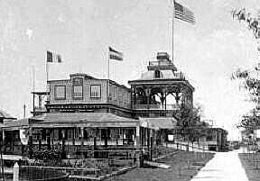 The casino                    