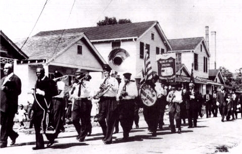 The Hurricane Brassband